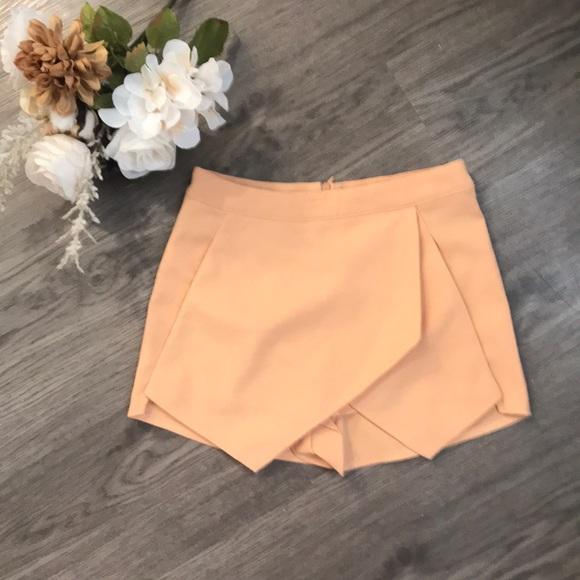 Missguided Pants - Missguided crepe mini skort